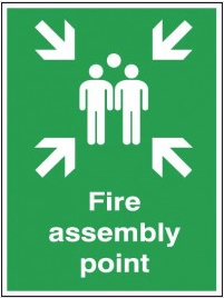 Fire Assembly Outdoor Sign SSW0310