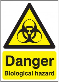 Danger Biological Hazard Signs SSW0270