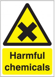 Harmful chemical sign SSW0219