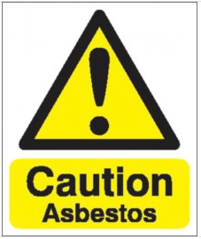 Caution Asbestos Signs SSW0039