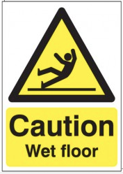 Caution Wet Floor Signs SSW0054
