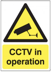 CCTV In Operation Signs SSW0056
