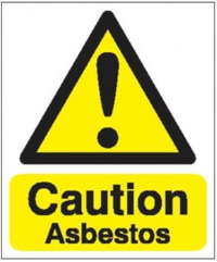 Caution Asbestos Signs SSW0038