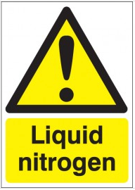 Liquid Nitrogen Signs SSW0260