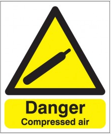 Danger Compressed Air Signs SSW0249