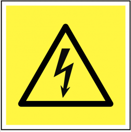 Electrical Hazard Symbol Signs SSW0229
