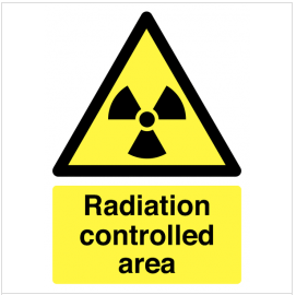 Radiation Area Signs SSW0220