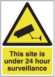 CCTV Warning Sign SSW0059
