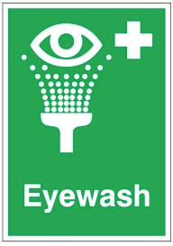 Eyewash Signs For Medical Emergencies SSW0199