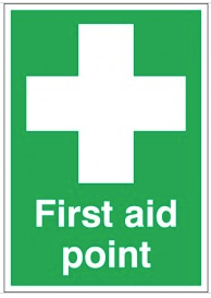 First aid point signs SSW0195
