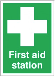 First Aid Station Signs SSW0185