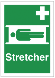 First aid Stretcher sign SSW0183