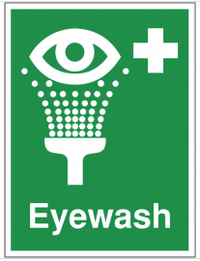 Eyewash location sign SSW0180