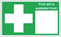 First Aid Is Available From Signs SSW0179