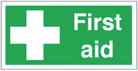 First Aid Photoluminescent Signs SSW0177