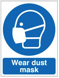 Wear Dust Mask Signs SSW0157