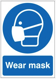 Wear Mask Signs SSW0156
