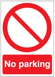 No parking signs SSW0132