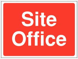 Site Office construction sign SSW0070