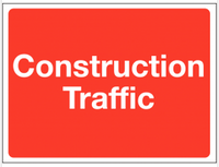 Construction Traffic Warning Signs SSW0066
