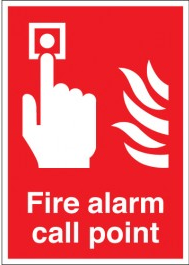 Fire Alarm Call Point Signs SSW0312