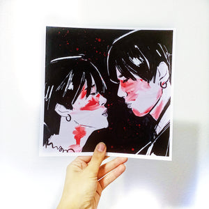 Three Cheers For Sweet Revenge JK JM Print