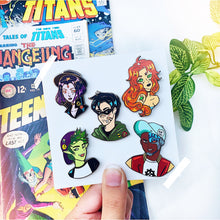 Teenage Heroes Enamel Pins