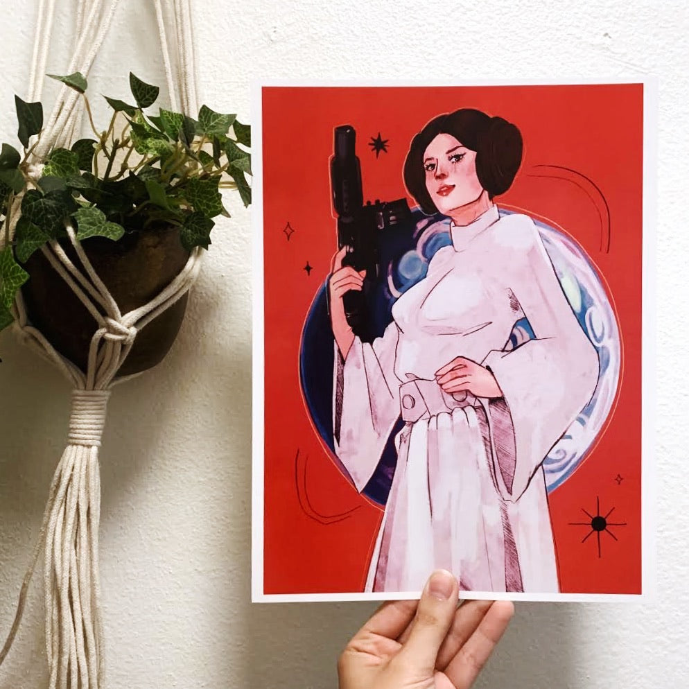 Princess of Alderaan Print