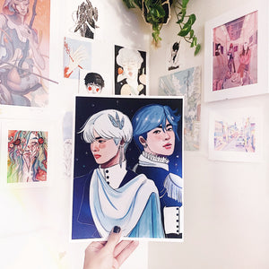 Winter Princes TaeJin Exclusive Print