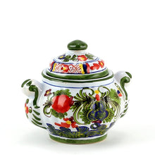 FAENZA-CARNATION: Sugar bowl