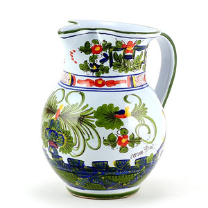 FAENZA-CARNATION: Pitcher (1 Liter 34 Oz)