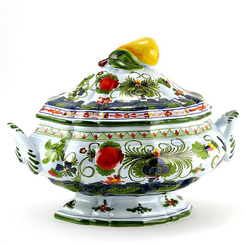 FAENZA-CARNATION: Soup tureen
