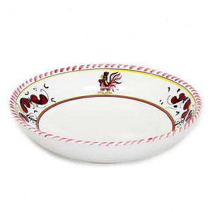 ORVIETO RED ROOSTER: 3 Pieces Place Setting