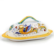 RAFFAELLESCO: Butter dish with cover