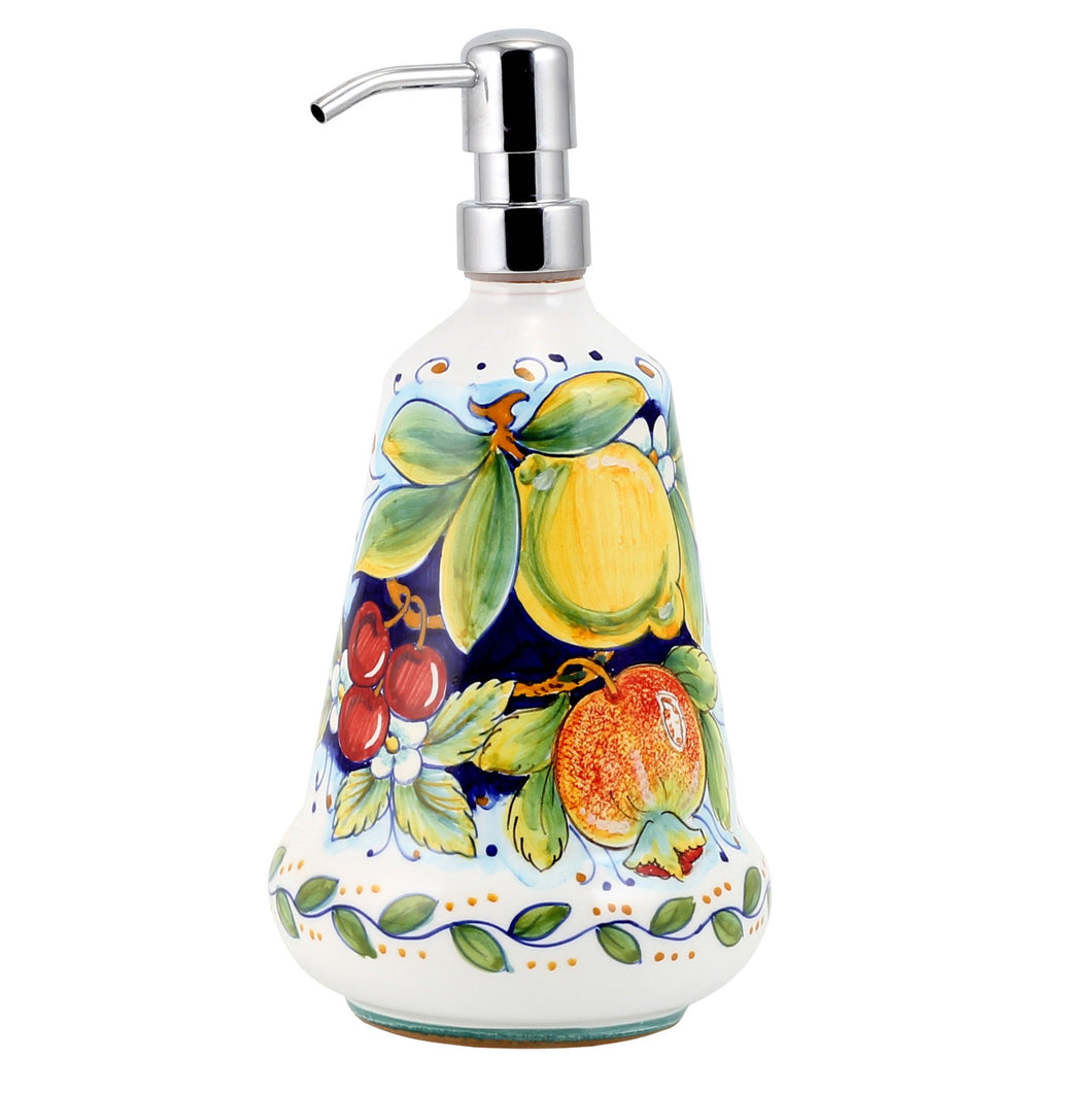 DERUTA FRUTTA: Liquid Soap-Lotion Dispenser (Large 26 OZ)