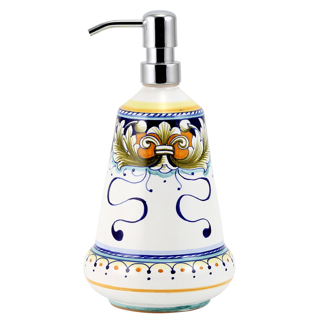 DERUTA FOGLIE: Liquid Soap Lotion Dispenser (Large 26 OZ)