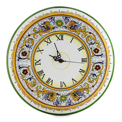 RAFFAELLESCO DELUXE: Large Round Wall Clock