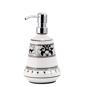 DERUTA VARIO NERO: Liquid Soap Lotion Dispenser (Medium 14 OZ)