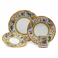 RAFFAELLESCO: 4 Pieces Place Setting (White Center)