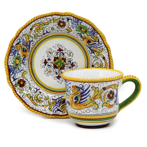 RAFFAELLESCO: Cup and Saucer