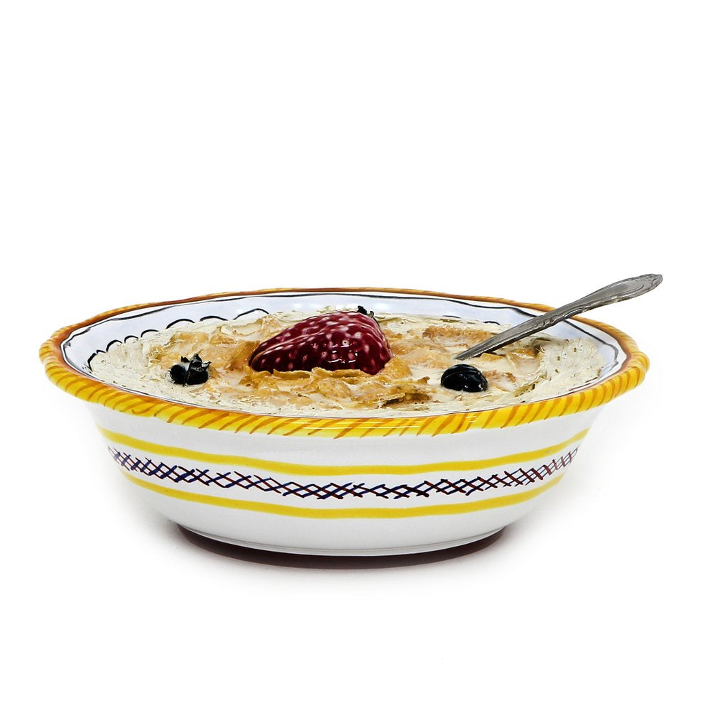 RAFFAELLESCO: Salad Cereal Bowl