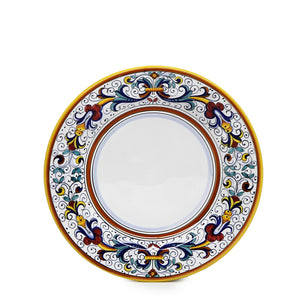 RICCO DERUTA: Salad Plate (White Center)