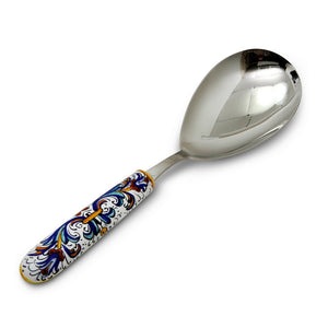 RICCO DERUTA DELUXE: Serving 'Risotto' Spoon Ladle with 18/10 stainless steel cutlery.