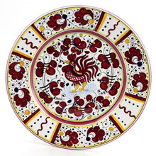 ORVIETO RED ROOSTER: 4 Pieces Place Setting