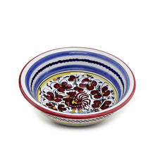 ORVIETO RED ROOSTER: Salad Cereal Bowl