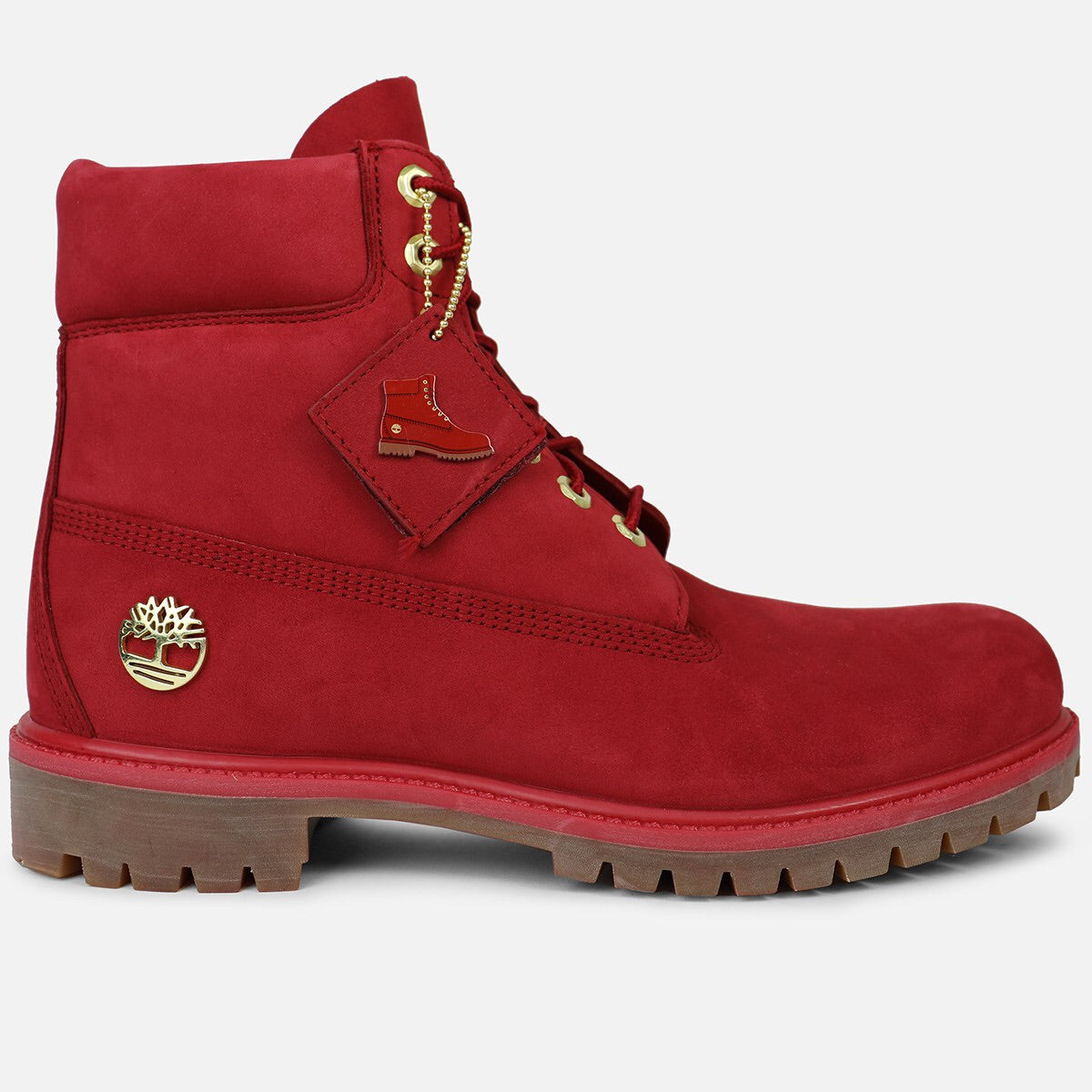 8a407a2b9b9 Timberland 6-Inch Premium Boot Fire (Ruby Red)
