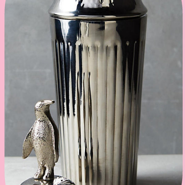 Penguin Cocktail Shaker in Stainless Steel