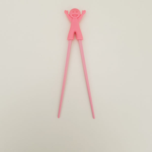 Happy Girl Training Chopstick in Pink