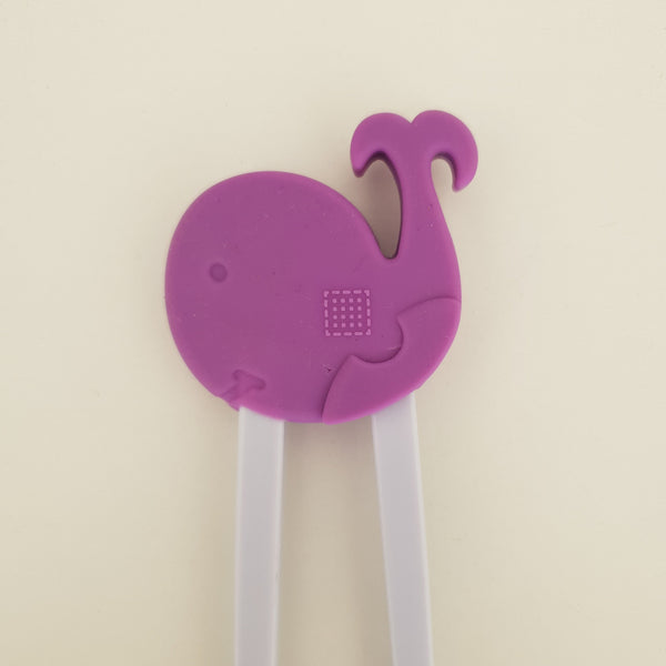 Happy Whale Training Chopstick in Purple