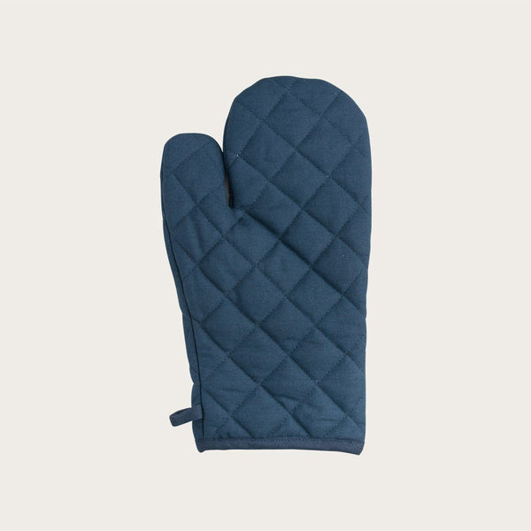 Theodore Oven Mitt in Navy Blue